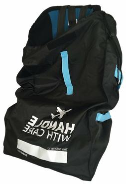 Car Seat Travel Bag System for Airline Gate Check  Extra Str