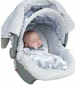 Carseat Canopy 5 Pc Whole Caboodle Baby Infant Car Seat Cove