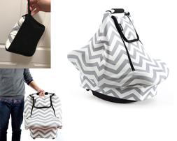 baby infant car seat cover canopy nursing
