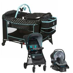 Disney Baby Stroller Travel System with Car Seat and Playard