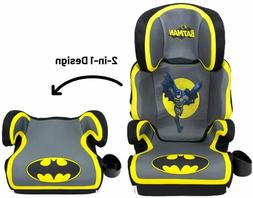 Kids Batman Booster Car Seat 2 In 1 Convertible Cup Holder S