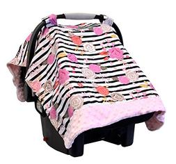 Itzy Ritzy Cozy Happens Infant Car Seat Canopy & Tummy Time