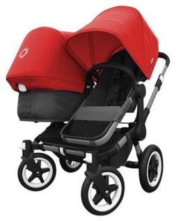 Bugaboo Donkey Complete Duo Stroller - Red - Aluminum
