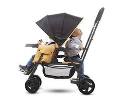 Premium Double Tandem Baby Strollers, Car Seat Adapter, Umbr