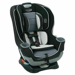 Graco Extend2fit Convertible Car Seat In  *Gotham * Black an