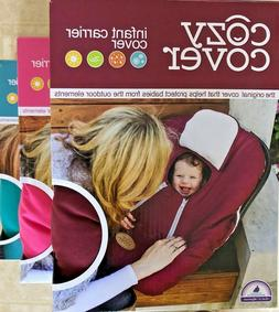 COZY COVER Infant Carrier Cover - NEW Secure Baby Car Seat C