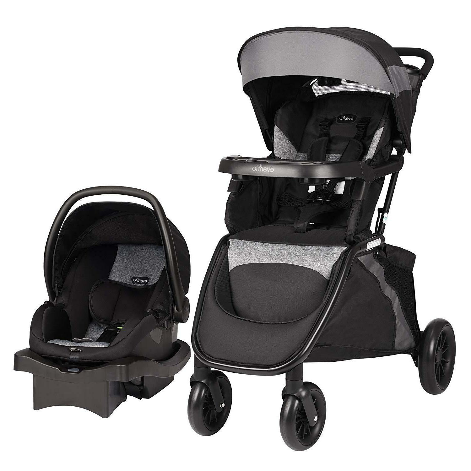 Evenflo Advanced SensorSafe Epic Travel System with LiteMax