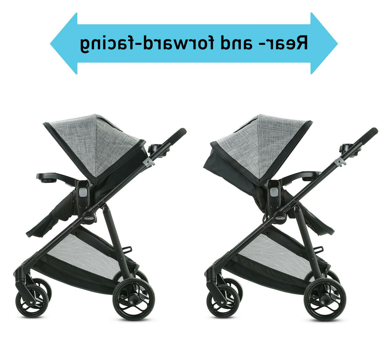 Graco Modes 3 Stroller Infant Car Carrier Gotham