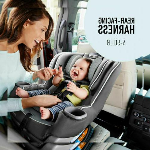 Graco Extend2Fit Car Seat | Facing 2-in-1, Kenzie