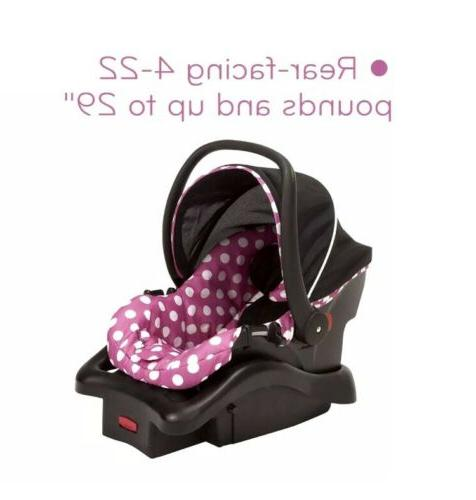 Light N Comfy Luxe Infant Car Disney Minnie Pink