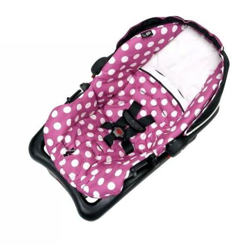 Infant Seat Minnie Dot Baby Pink Travel