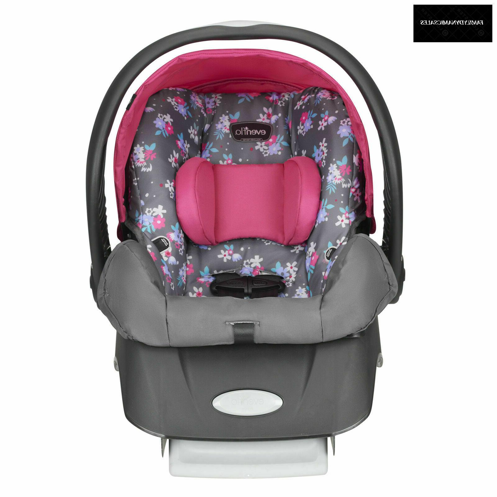 new embrace select infant car seat blossom
