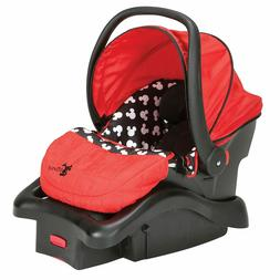Disney Light'n Comfy Luxe Infant Car Seat, Color: Mickey Sil