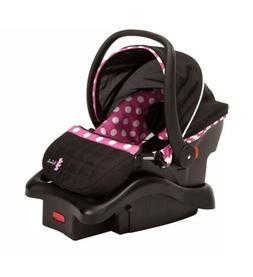 Light N Comfy Luxe Infant Car Seat Disney Minnie Baby Pink T