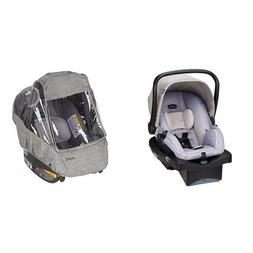 Evenflo LiteMax 35 Infant Car Seat, Riverstone with Infant C