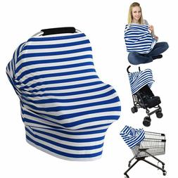 LOAZRE Nursing Cover Breastfeeding Cover Baby Car Seat Cover