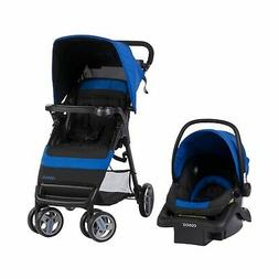 Cosco Simple Fold Travel System With Light And Comfy 22 Infa