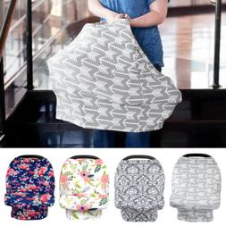 Stretchy Baby Stroller Car Seat Cover Canopy Nursing Breastf